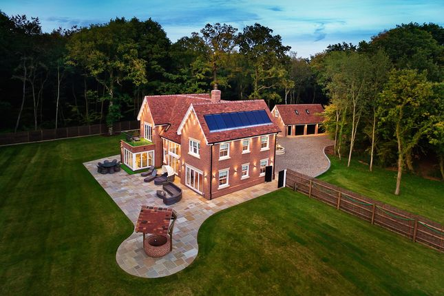 Thumbnail Detached house for sale in Polstead Heath, Stackwood Road, Colchester