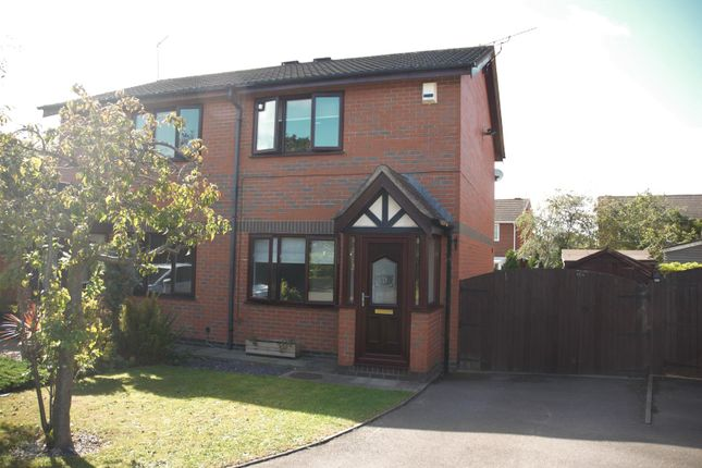 Thumbnail Semi-detached house to rent in Kilmarie Close, Hinckley, Leicestershire