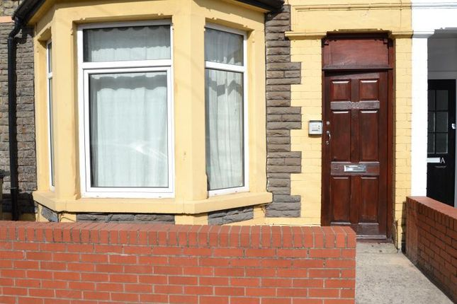 Thumbnail Shared accommodation to rent in Alfred Street, Roath, Cardiff