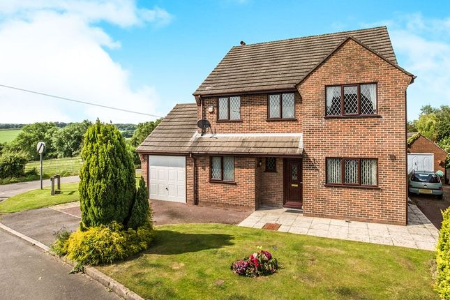 Thumbnail Detached house for sale in Meadow View Wessington Lane, South Wingfield, Alfreton
