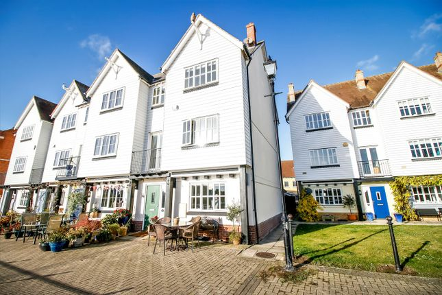 Thumbnail Town house for sale in West Quay, Wivenhoe, Colchester
