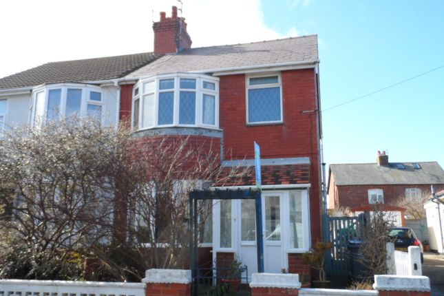 Thumbnail Semi-detached house to rent in Kelvin Road, Thornton Cleveleys
