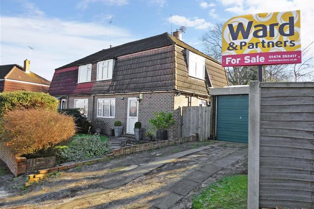 Thumbnail Semi-detached house for sale in Irvine Road, Higham, Rochester, Kent