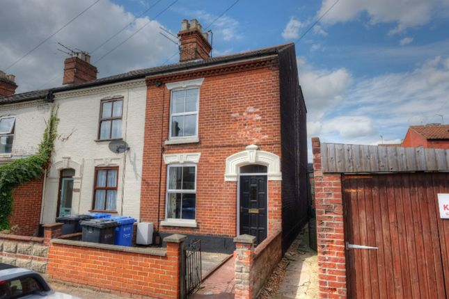 Thumbnail End terrace house for sale in St. Olaves Road, Norwich