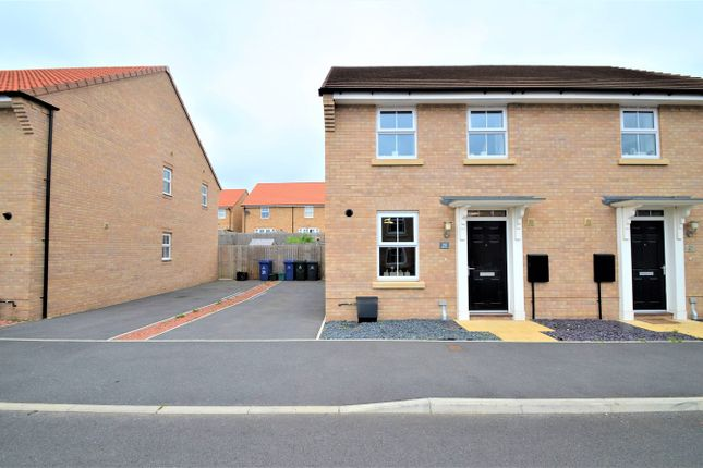 Thumbnail Semi-detached house for sale in Merlin Drive, Auckley, Doncaster