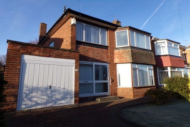 Thumbnail Property to rent in Easedale Avenue, North Gosforth, Newcastle Upon Tyne