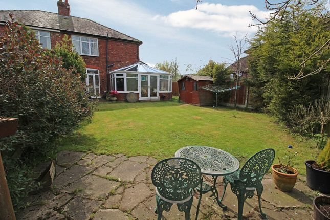 Thumbnail Semi-detached house for sale in Manchester Road, Lostock Gralam, Northwich