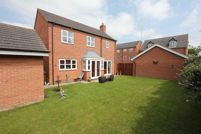 Thumbnail Detached house for sale in Pickering Place, Burbage, Hinckley
