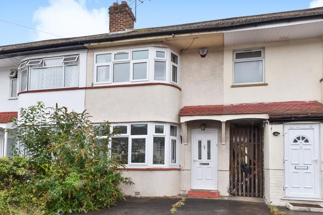Thumbnail Terraced house to rent in Lewins Way, Slough