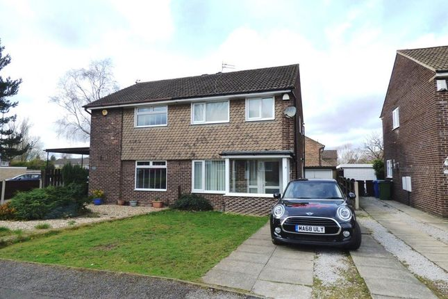Thumbnail Semi-detached house to rent in Ladywell Close, Hazel Grove, Stockport