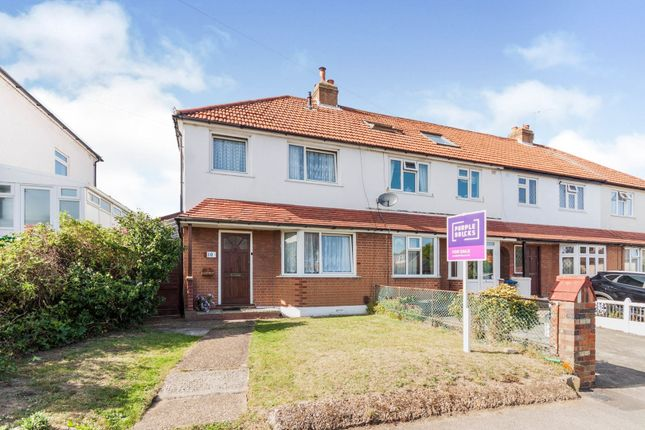 3 bed end terrace house for sale in Church Lane, Chessington KT9