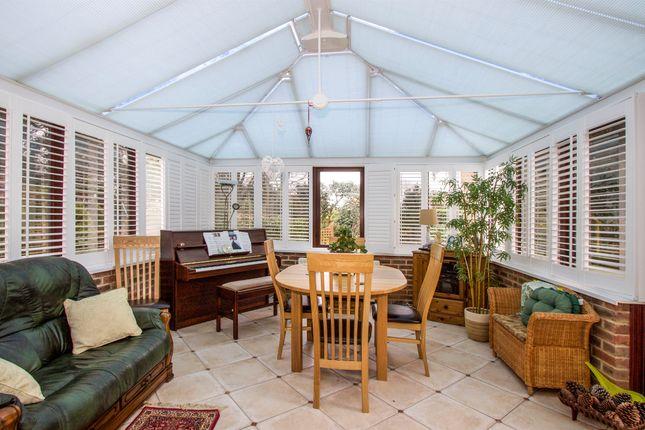 Thumbnail Detached bungalow for sale in Garden Walk, Ferndown