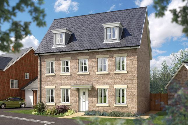 "Thumbnail Detached house for sale in ""The Warwick"" at Bradley Bends, Devon, Bovey Tracey"