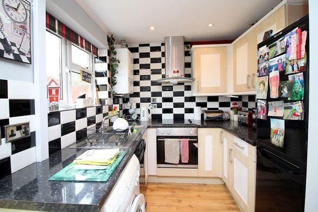 Kitchen of Easterly Close, Brackla, Bridgend County. CF31