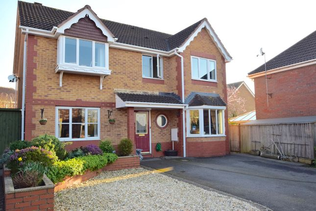 Thumbnail Detached house for sale in Barkers Mead, Yate, Bristol