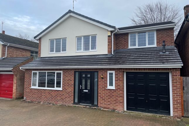 Thumbnail Detached house to rent in Melbourn Close, Duffield, Belper