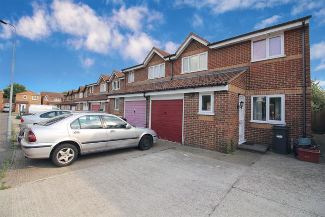 Thumbnail Terraced house to rent in Burket Close, Southall