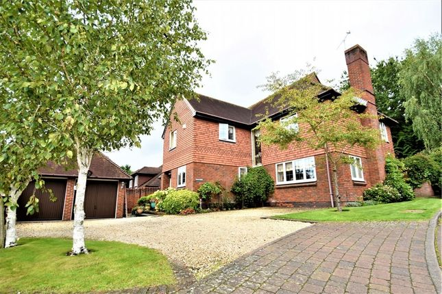 Thumbnail Detached house for sale in Springfield, Lightwater, Surrey