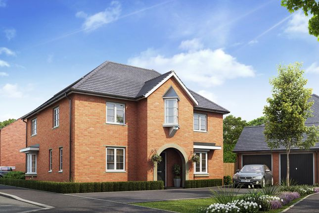 "Thumbnail Detached house for sale in ""Brockhall"" at Mitton Road, Whalley, Clitheroe"