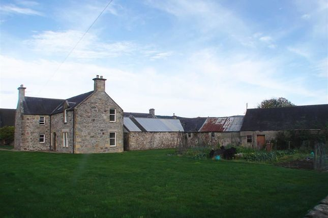 Thumbnail Farmhouse for sale in Green Street, Rothes, Aberlour
