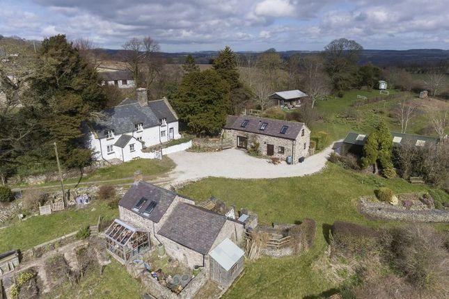Aerial View of Bryn Eithin Road, Afonwen, Mold CH7