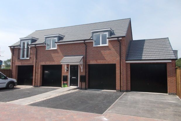 Thumbnail Flat to rent in Holly Bank, Hawksyard, Rugeley
