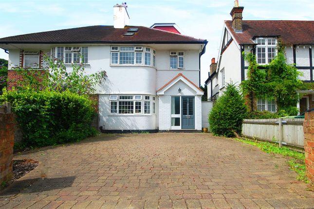 Thumbnail Semi-detached house to rent in Nightingale Road, Hampton