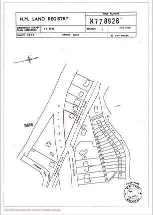 Thumbnail Land for sale in London Road, River, Dover