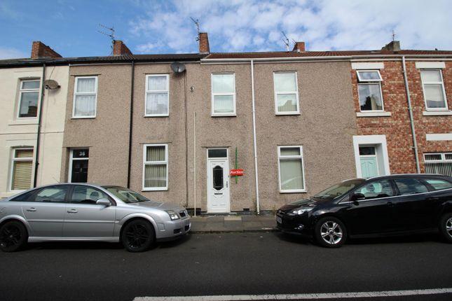 Front of Aldborough Street, Blyth, Northumberland NE24