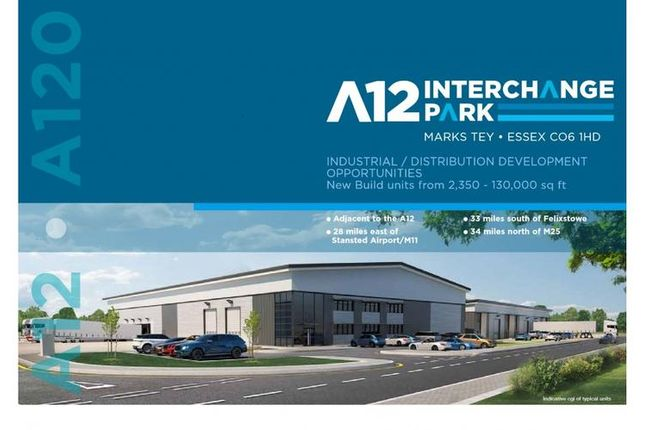 Thumbnail Warehouse to let in A12, Marks Tey