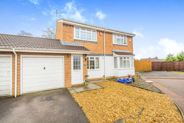Thumbnail Semi-detached house for sale in Birchwood Gardens, Cardiff