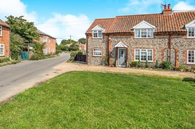 Thumbnail Semi-detached house for sale in Great Massingham, King's Lynn, Norfolk