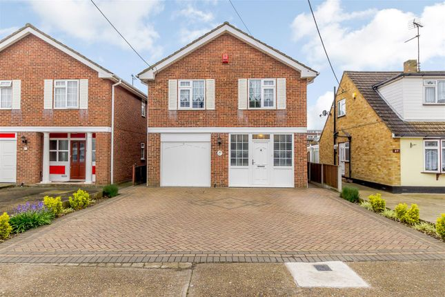 Thumbnail Detached house for sale in Eversley Road, Benfleet