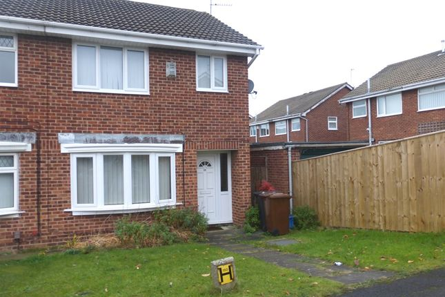Thumbnail Semi-detached house for sale in Silverwood Close, Hartlepool