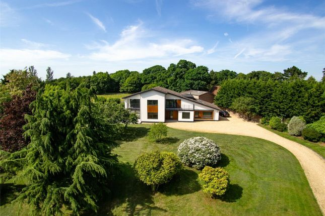 Thumbnail Detached house for sale in Sway Road, Pennington, Lymington, Hampshire