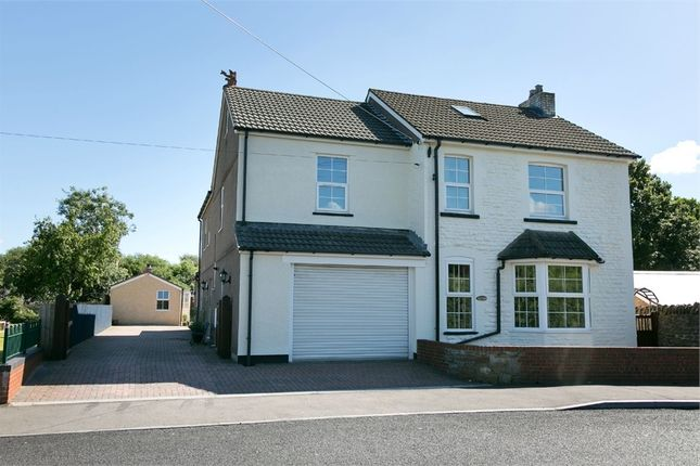 Thumbnail Detached house for sale in Ty Nant, Caerphilly