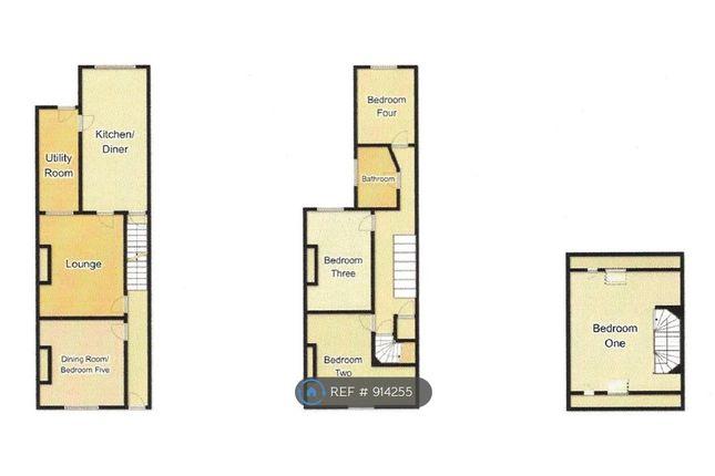 Floor Plan of Etwall Street, Derby DE22