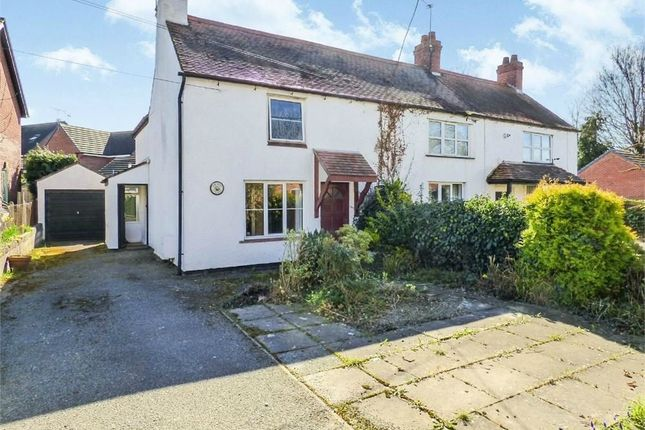 Thumbnail Semi-detached house for sale in Bangor Road, Overton, Wrexham