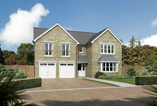 "Thumbnail Detached house for sale in ""Sandholme"" at Slateford Road, Bishopton"