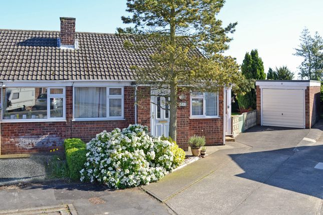 Thumbnail Semi-detached bungalow for sale in Neville Drive, Bishopthorpe, York