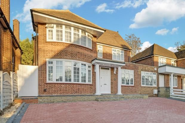 Thumbnail Detached house for sale in St Marys Avenue, Finchley Central, London