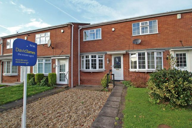 Thumbnail Town house to rent in Downham Close, Woodthorpe View, Nottingham