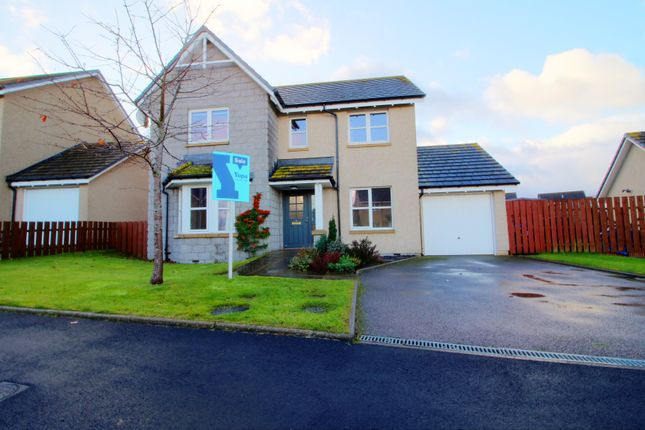 Thumbnail Detached house for sale in Balfluig View, Alford