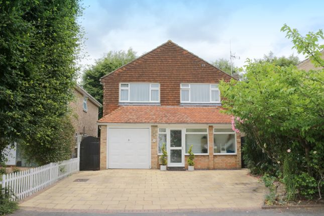 Thumbnail Detached house for sale in Well Close, Horsell, Woking, Surrey
