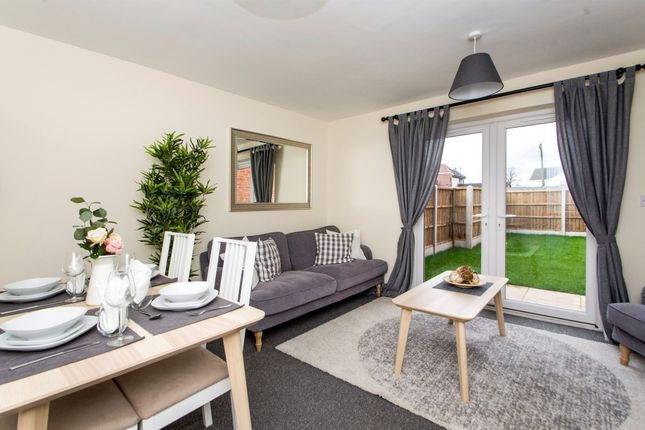 Thumbnail Town house for sale in Peel Street Villa's, Langley Mill, Nottingham