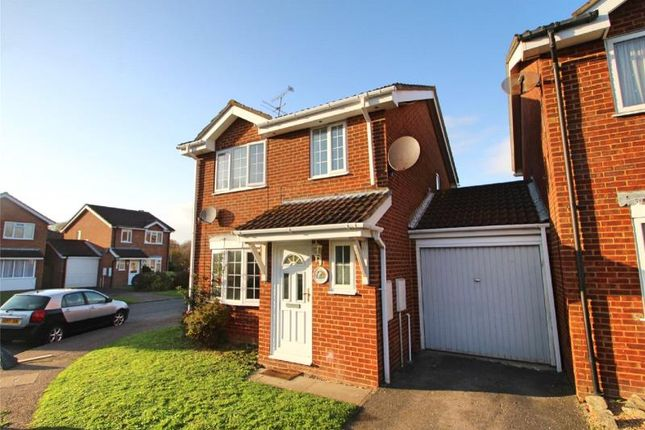 Thumbnail Detached house for sale in Kingfisher Close, Worthing, West Sussex