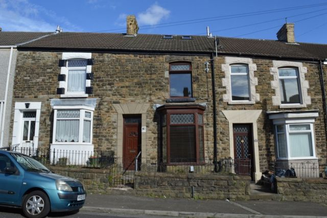 Thumbnail Terraced house to rent in Iorwerth Street, Manselton, Swansea.