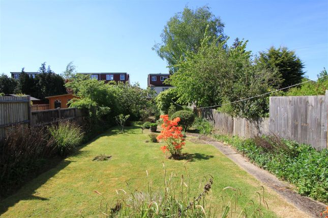 Rear Garden of Cannonbury Avenue, Pinner HA5