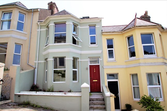Thumbnail Terraced house to rent in Rutland Road, Mannamead, Plymouth