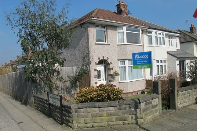 Thumbnail Semi-detached house for sale in Rudston Road, Childwall, Liverpool, Merseyside